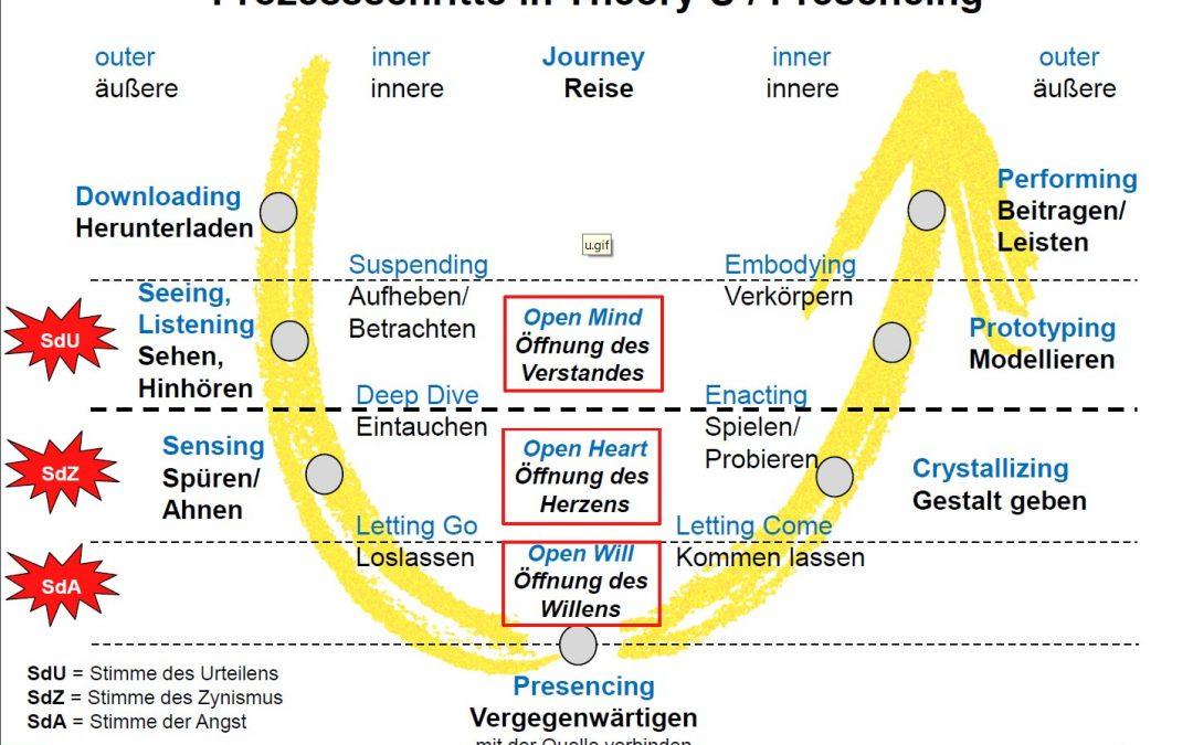 cogitamus – Einführung in Theorie U mit Praxisübungen (deutsch)